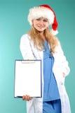 Doktor - Kerstmis royalty-vrije stock afbeeldingen