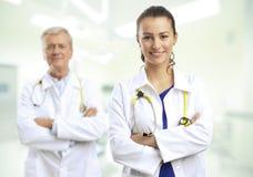 doktor kobieta Zdjęcia Royalty Free