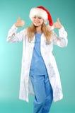 Doktor - la Navidad Fotos de archivo