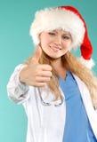 Doktor - la Navidad Imágenes de archivo libres de regalías