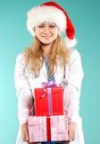 Doktor - la Navidad Foto de archivo