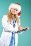 Doktor - la Navidad fotografía de archivo libre de regalías