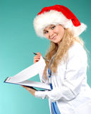 Doktor - la Navidad Imagen de archivo