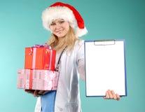 Doktor - la Navidad Imagen de archivo libre de regalías