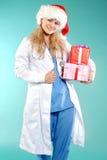 Doktor - la Navidad Fotos de archivo libres de regalías