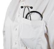 Doktor med stetoskopet Arkivfoton