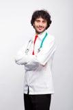 Doktor med stetoskopet arkivbilder