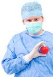 Doktor mit Innerem Lizenzfreie Stockfotos