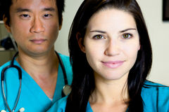 ] Doktor Nurse Team lizenzfreie stockfotografie
