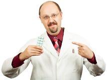 Doktor oder Apotheker Lizenzfreie Stockbilder