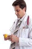 Doktor oder Apotheker Lizenzfreie Stockfotos