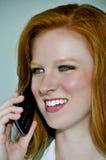 Doktor på telefonen Fotografering för Bildbyråer