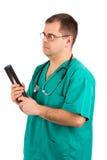 Doktor röntgenstråle Analisys Arkivfoton