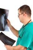 Doktor röntgenstråle Analisys Arkivfoto