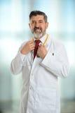 doktor się uśmiecha Obraz Royalty Free