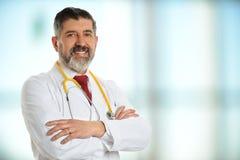doktor starszy uśmiecha się Fotografia Stock