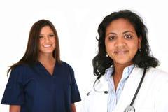 Doktor und Krankenschwester Lizenzfreie Stockfotografie