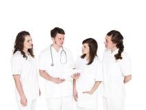Doktor und Krankenschwestern Lizenzfreie Stockfotos