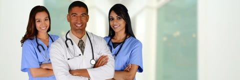 Doktor und Krankenschwestern stockfotografie