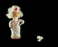 Doktor und Medikation Stockfotografie