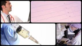 Doktor und Medizin stock video footage
