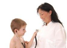 Doktor und Patient 23 Lizenzfreie Stockfotos