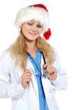 Doktor - Weihnachten Lizenzfreie Stockfotografie