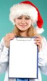 Doktor - Weihnachten Lizenzfreie Stockfotos