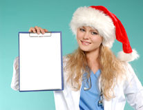Doktor - Weihnachten Stockfoto