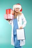 Doktor - Weihnachten Lizenzfreies Stockbild