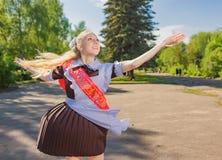 doktorand- lyckligt Royaltyfri Foto