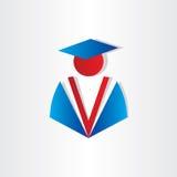 Doktorand- universitetsymbol för student Arkivfoton