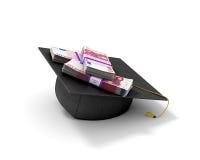 Doktorate und der Euro Lizenzfreies Stockbild