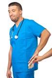 Doktorausschußbestechungsgeld Lizenzfreie Stockbilder