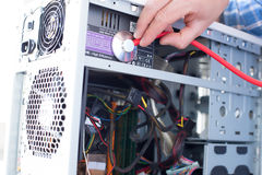 Doktorcomputer Lizenzfreie Stockbilder