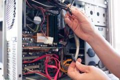 Doktorcomputer Lizenzfreies Stockfoto