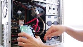 Doktorcomputer stock video
