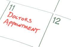 Doktoren Appointment Stockfotografie