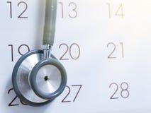 Doktoren Appointment lizenzfreie stockbilder