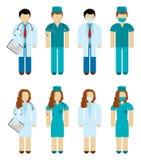Doktoren und Chirurgen Lizenzfreies Stockfoto