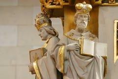 Doktorer av kyrkan royaltyfria bilder