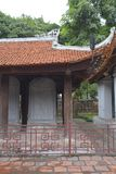 Doktorer Stelae i templet av litteratur Arkivbild