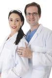 Doktorer tillsammans fotografering för bildbyråer