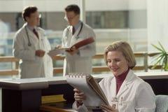 doktorer tre arkivbilder