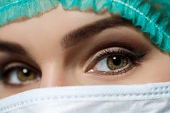 Doktorers ögon Royaltyfri Bild