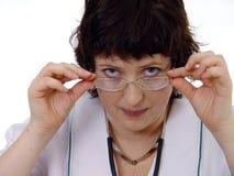 Doktorfrau Stockfoto