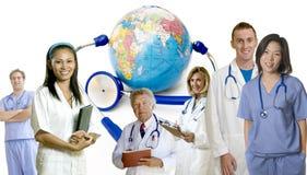 Doktorgruppe Stockbild