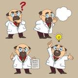 Doktorn råder vektor illustrationer