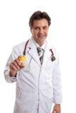 Doktorratemedikation lizenzfreie stockbilder
