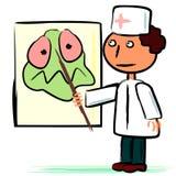 doktorsbakterieaffisch Royaltyfri Bild